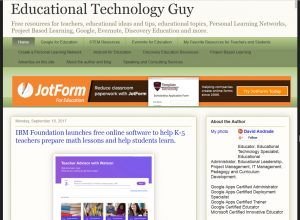 EducationalTechnologyGuy.blogspot.com