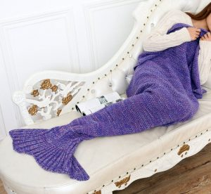 FADFAY Mermaid Tail Blanket
