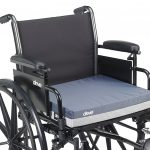 Gel seat cushion for wheelchair
