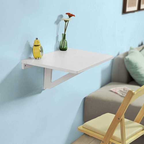 Haotian Folding Wall Mounted Drop-Leaf Table