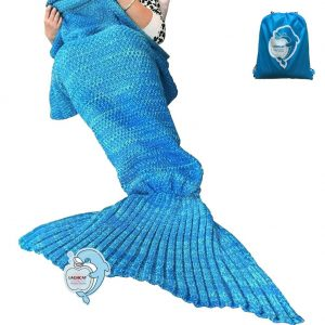 LAGHCAT Adult Mermaid Tail Blanket
