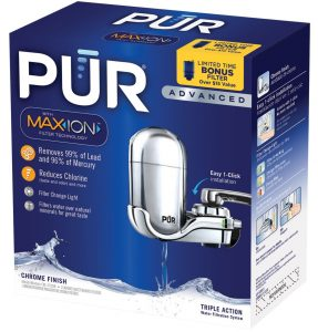 PUR 3-Stage Advanced Faucet Water Filter Box