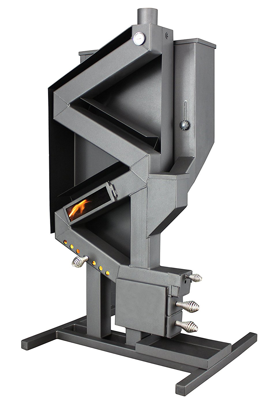 Us Stove Gravity Feed Non Electric Wiseway Pellet Stove Us