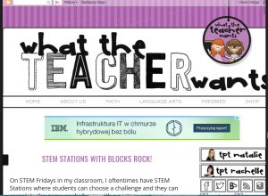 WhatTheTeacherWantsBlog.com
