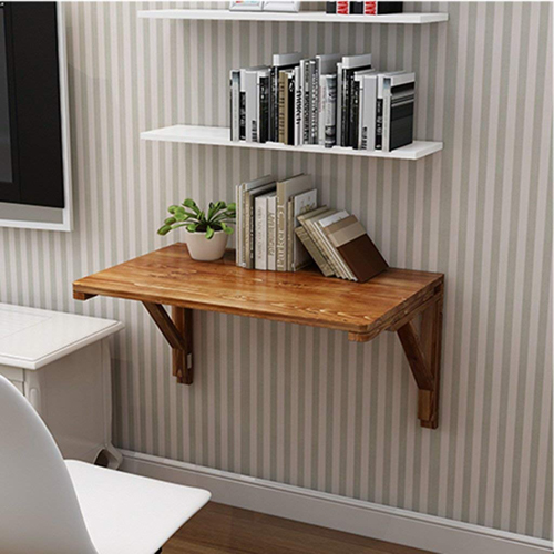 ZCJB Solid Wood Wall Mounted Folding Table