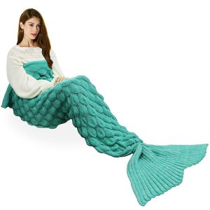 Handmade Mermaid Tail Blanket Crochet