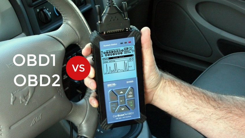 Difference between OBD1 and OBD2