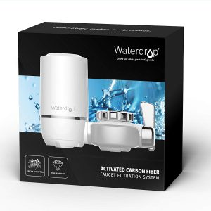 Waterdrop 320-Gallon Long-Lasting Water Faucet / Box